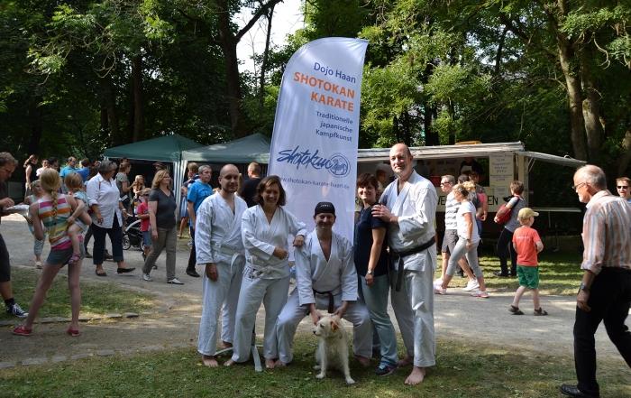 Shotokan Karate Haan auf dem Gruitener Dorffest 2015