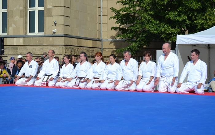 Der Shotokan Karate Haan e. V. auf dem Düsseldorfer Japan-Tag