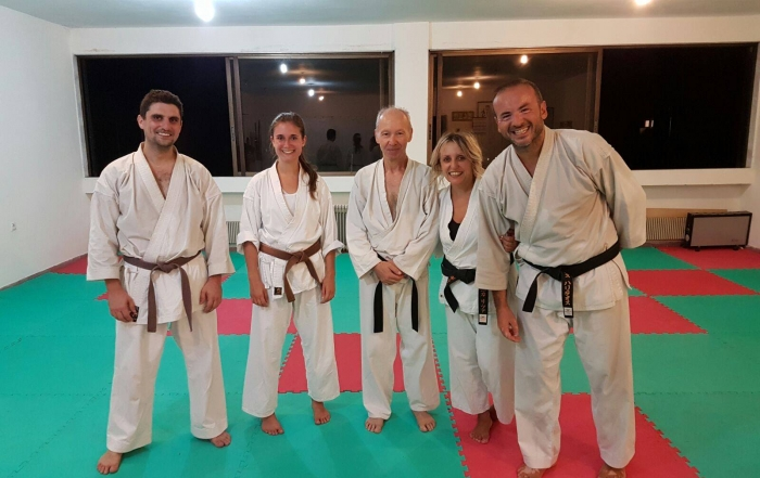 Training mit Greece Shotokan Karate in Thessaloniki