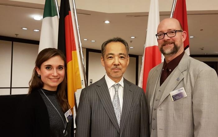 Empfang des neuen Generalkonsul von Japan